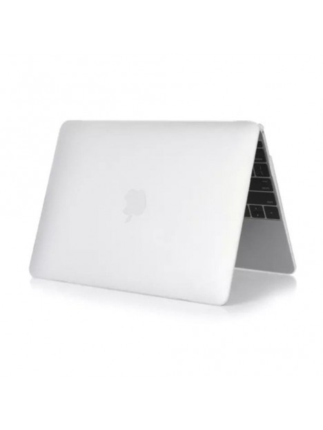 Coque de protection pour MacBook, blanche matte